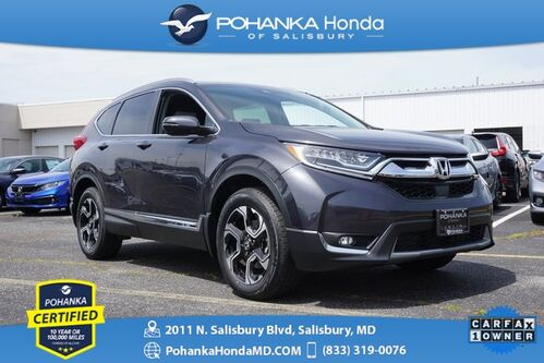 2017_Honda_CR-V_Touring AWD ** NAVI & SUNROOF ** ONE OWNER **_ Salisbury MD