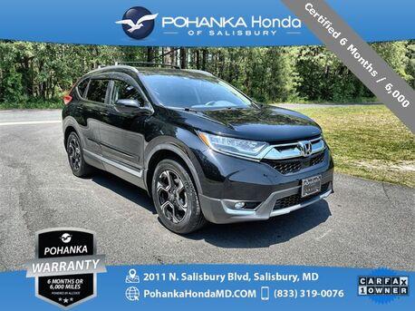 2017_Honda_CR-V_Touring AWD ** NAVI & SUNROOF ** ONE OWNER **_ Salisbury MD