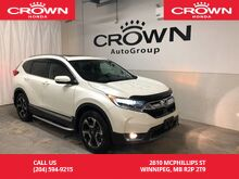2017_Honda_CR-V_Touring /AWD/NO ACCIDENTS/EXECUTIVE DEMO/PANORAMIC MOONROOF/HEATED STEERING WHEEL/NAVIGATION/_ Winnipeg MB