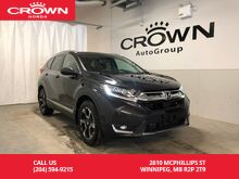 2017_Honda_CR-V_Touring /NO ACCIDENTS/LOW KM/ONE OWNER/PANORAMIC MOONROOF/NAVIGATION_ Winnipeg MB