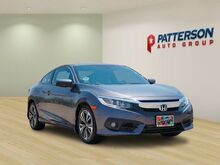 2017_Honda_Civic Coupe_EX-L ***ONE OWNER***CLEAN CARFAX***LEATHER***COUPE***_ Wichita Falls TX