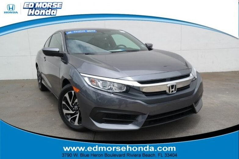 2017 Honda Civic Coupe LX CVT Riviera Beach FL