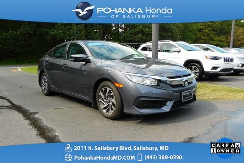 2017_Honda_Civic_EX ** 1 Owner ** Honda Certified 7 Year/100,000  **_ Salisbury MD