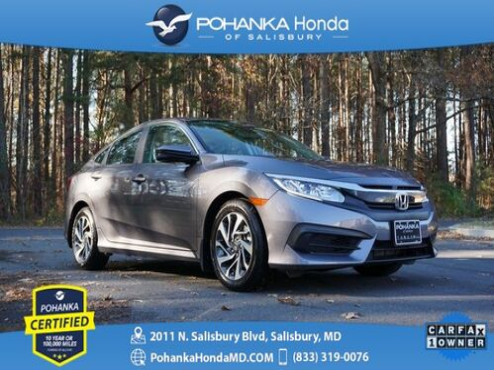 2017_Honda_Civic_EX ** Pohanka Certified 10 Year / 100,000  **_ Salisbury MD