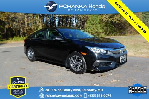 2017_Honda_Civic_EX  ** Pohanka Certified 10 Year / 100,000 **_ Salisbury MD