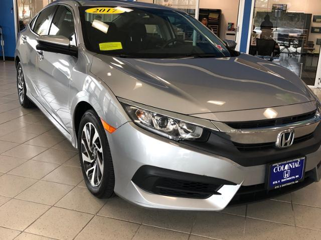 2017 Honda Civic EX CVT Dartmouth MA