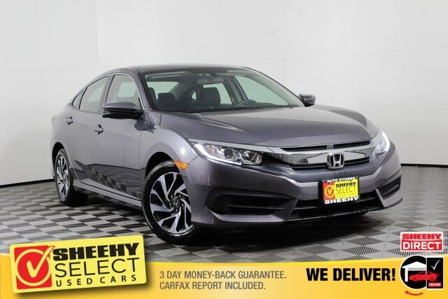 used 2017 honda civic ex in manassas va sheehy toyota of fredericksburg