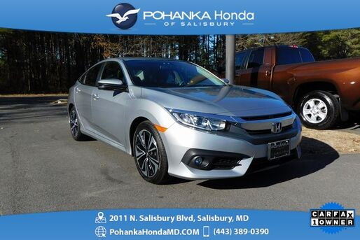 2017_Honda_Civic_EX-L ** NAVI & SUNROOF ** ONE OWNER **_ Salisbury MD