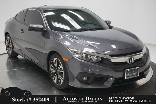 2017_Honda_Civic_EX-L CAM,SUNROOF,HTD STS,KEY-GO,17IN WLS_ Plano TX
