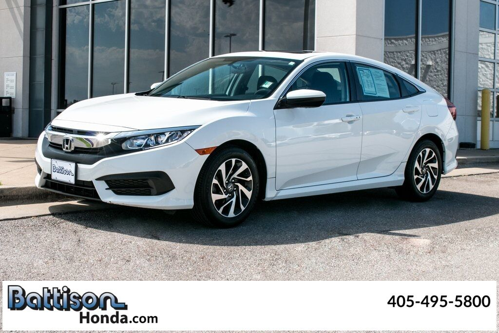 2017_Honda_Civic_EX_ Oklahoma City OK