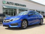 2017 Honda Civic EX Sedan CVT CLOTH SEATS, SUNROOF, BACKUP CAMERA, KEYLESS START, UNDER FACTORY WARRANTY