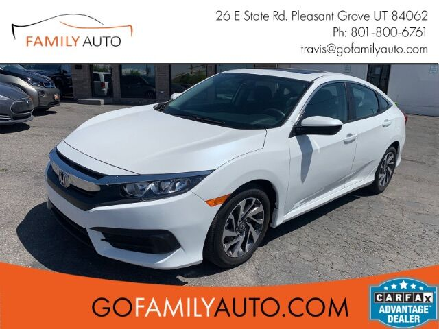 2017 Honda Civic EX Sedan CVT Pleasant Grove UT