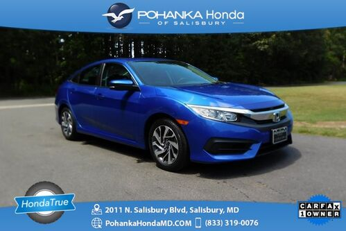 2017_Honda_Civic_EX Sunroof ** Honda True Certified 7 Year / 100,000_ Salisbury MD