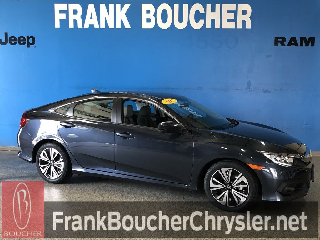 Used 2017 Honda Civic Ex T In Janesville Wi