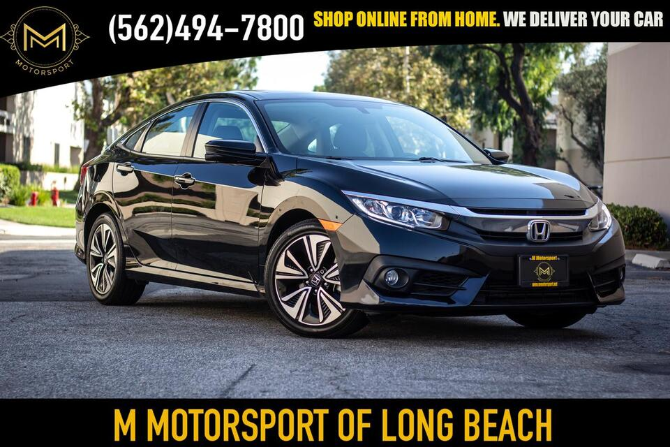 2017_Honda_Civic_EX-T Sedan 4D_ Long Beach CA