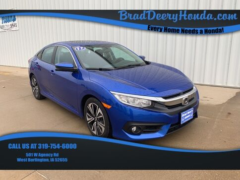 2017_Honda_Civic_EX-T_ West Burlington IA