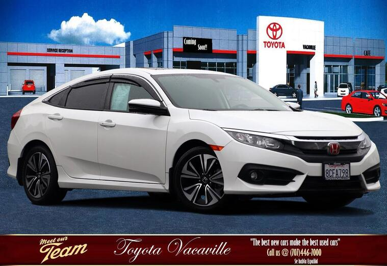 2017 Honda Civic Ex-t Sedan Vacaville CA