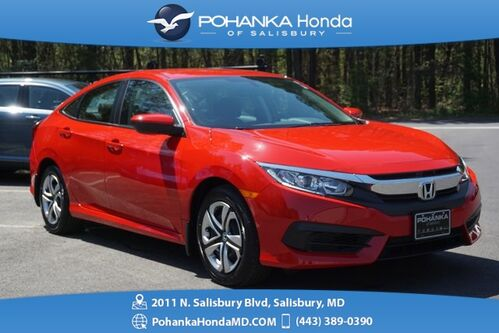2017_Honda_Civic_LX ** 1 OWNER ** HONDA CERTIFIED 7 Year / 100,000 **_ Salisbury MD