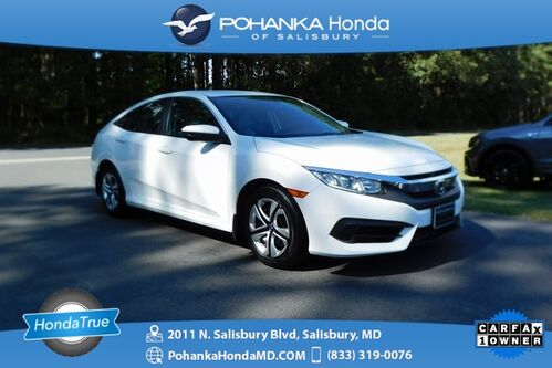 2017_Honda_Civic_LX ** Honda True Certified 7 Year / 100,000 **_ Salisbury MD