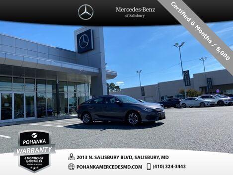 2017_Honda_Civic_LX ** Pohanka 6 Month / 6,000 Mile Warranty **_ Salisbury MD