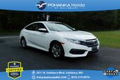 2017 Honda Civic LX ** Pohanka Certified 10 Year / 100,000  **