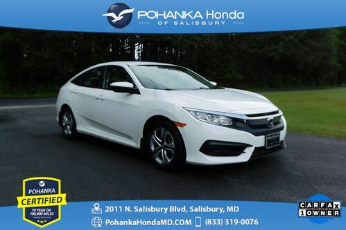 2017_Honda_Civic_LX ** Pohanka Certified 10 Year / 100,000  **_ Salisbury MD