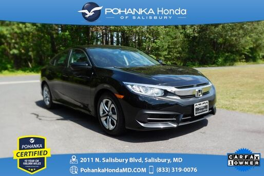 2017_Honda_Civic_LX ** Pohanka Certified 10 Year/100,000  **_ Salisbury MD