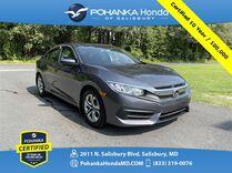 2017 Honda Civic LX ** Pohanka Certified 10 Year / 100,000