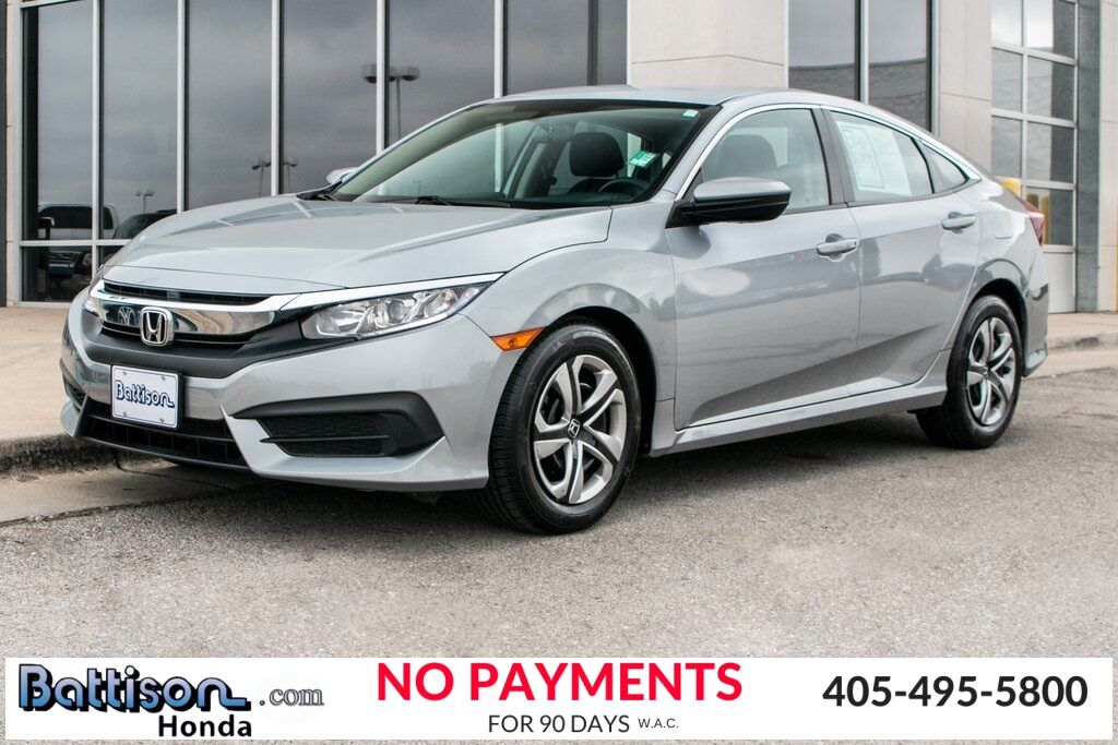 2017_Honda_Civic_LX_ Oklahoma City OK