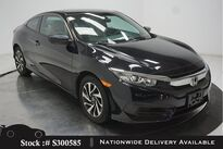 Honda Civic LX-P Coupe CAM,SUNROOF,KEY-GO,16IN WLS 2017
