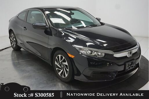 2017_Honda_Civic_LX-P Coupe CAM,SUNROOF,KEY-GO,16IN WLS_ Plano TX