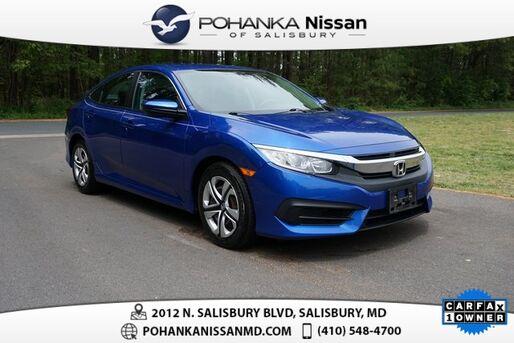 2017_Honda_Civic_LX_ Salisbury MD