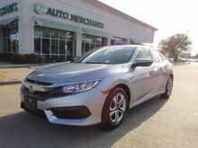 2017_Honda_Civic_LX Sedan CVT BLUETOOTH, BACKUP CAM, AUTO HOLD BRAKE_ Plano TX