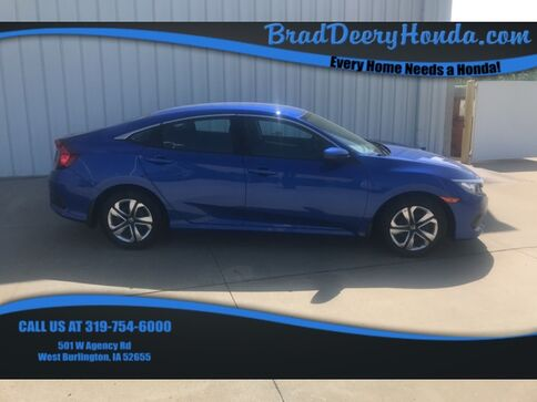 2017_Honda_Civic_LX_ West Burlington IA