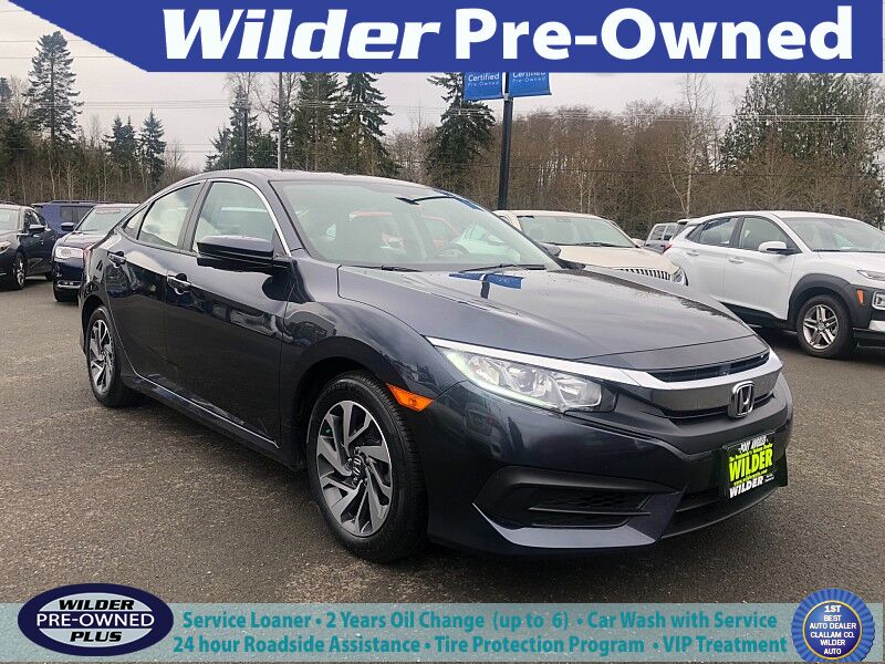 2017 Honda Civic Sedan 4d EX Port Angeles WA