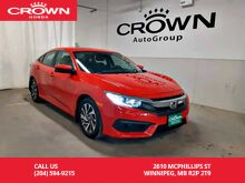 2017_Honda_Civic Sedan_EX/***24th ANNUAL VICTORIA DAY SALE*** one owner lease return/low kms/ heated seats/back up cam/ sunroof_ Winnipeg MB