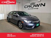 2017_Honda_Civic Sedan_EX/***24th ANNUAL VICTORIA DAY SALE***no damage records/one owner lease return/push start button/econ mode assist/back up cam_ Winnipeg MB