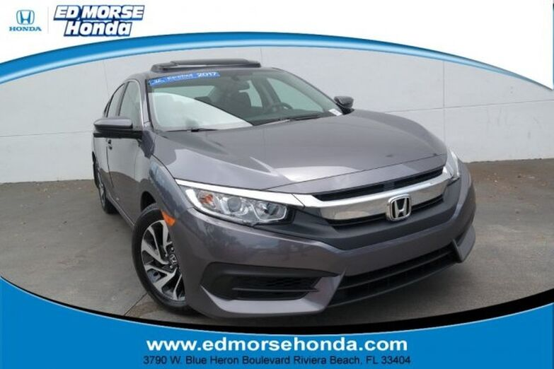 2017 Honda Civic Sedan EX CVT Riviera Beach FL
