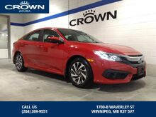 2017_Honda_Civic Sedan_EX Sedan **Honda Sensing ** Sunroof **_ Winnipeg MB