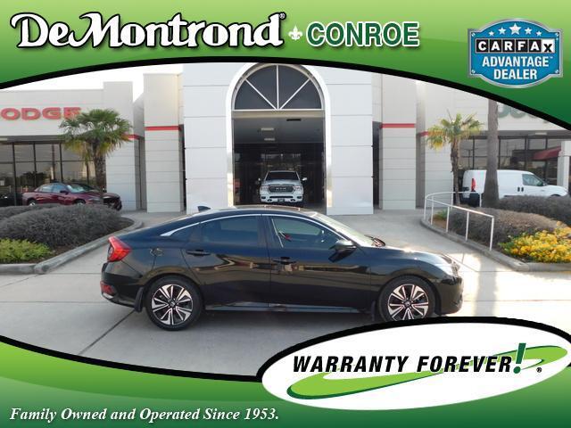 2017 Honda Civic Sedan EX-T CVT Conroe TX