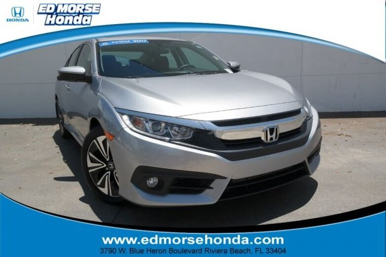 2017 Honda Civic Sedan EX-T CVT Riviera Beach FL