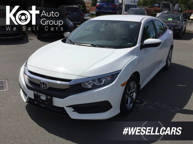 2017 Honda Civic Sedan LX 2 SETS OF TIRES! 1 OWNER! SUPER CLEAN! Penticton BC