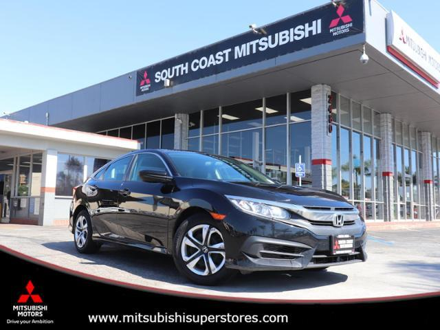 2017 Honda Civic Sedan LX Costa Mesa CA