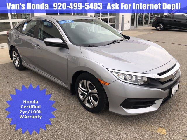 2017 Honda Civic Sedan LX Green Bay WI