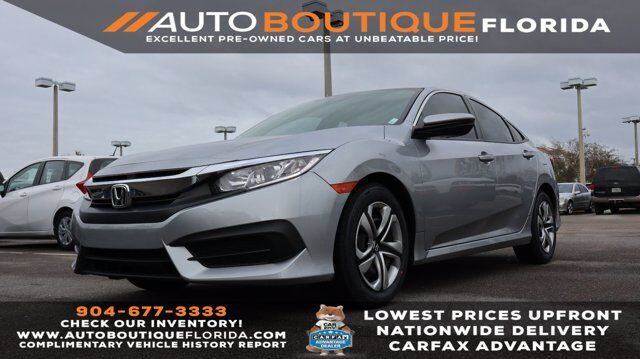 2017 Honda Civic Sedan LX Jacksonville  FL