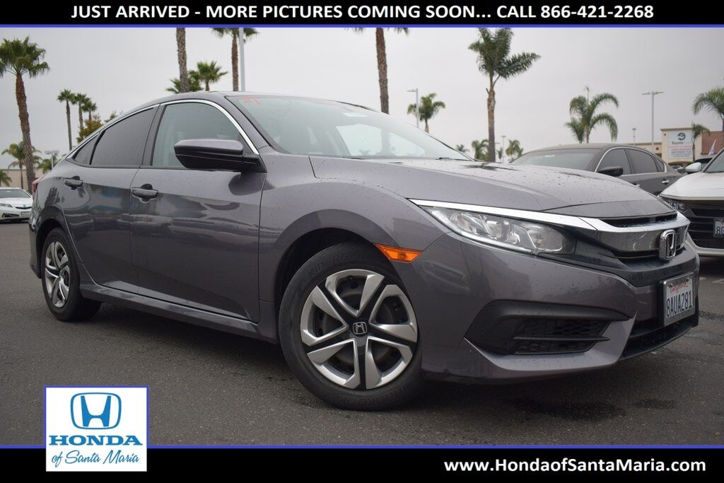 2017 Honda Civic Sedan LX Santa Maria CA