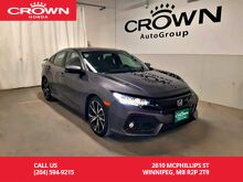 2017_Honda_Civic Sedan_Si/ ***24th ANNUAL VICTORIA DAY SALE***/MT/ one owner/low kms/ sunroof/heated seats/2-way remote start_ Winnipeg MB