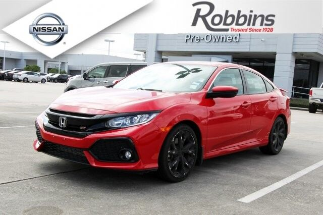 2017 Honda Civic Sedan Si Houston TX