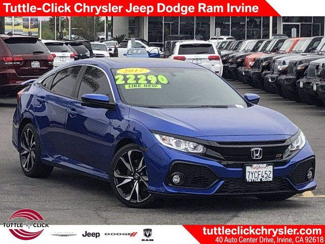2017 Honda Civic Sedan Si Irvine CA