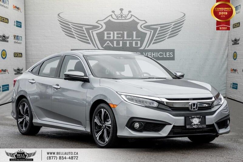 2017 Honda Civic Sedan Touring, NO ACCIDENT, NAVI, REAR CAM, B.SPOT CAM
